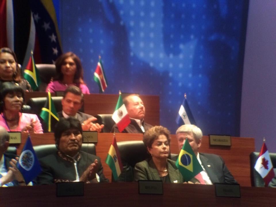 Dilma Rousseff en la VII Cumbre de las Américas / Fotografía: Oreste Del Río - Cancillería de Panamá