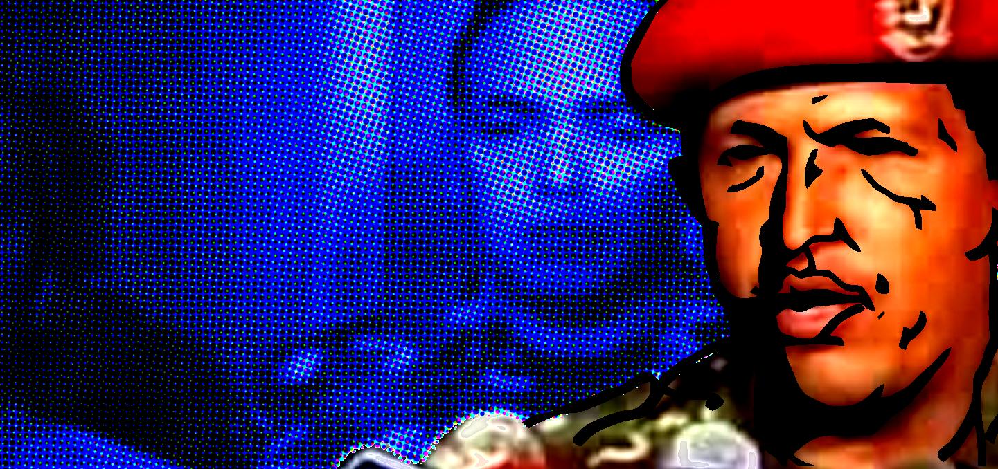 Hugo Chavez, declarando tras su intento de golpe de Estado el 4 de febrero de 1992. Autor: Guillermo T. Aveledo