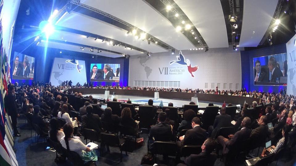 VII Cumbre de las Américas. Foto: Oreste Del Río - Cancillería de Panamá