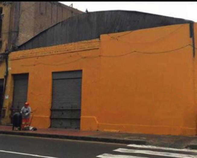 El mismo mural luego de cubierto con pintura / © Jorge Dell'Oro