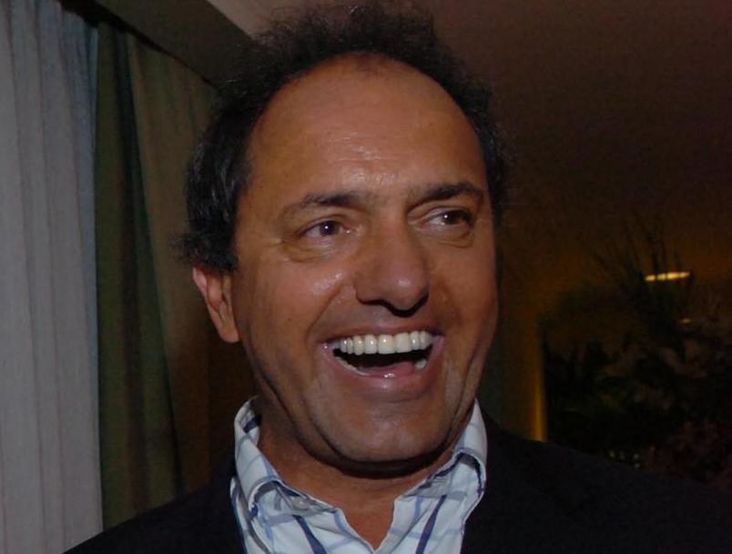 Daniel Scioli, 28 October 2007. Fuente: Presidencia de la N. Arg., WikimediaCommons.