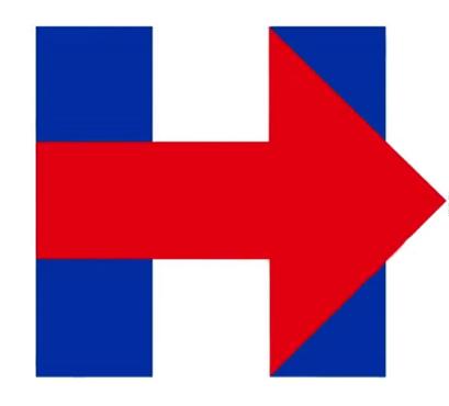 Logotipo de la campaña de Hillary Clinton /Fuente: @HillaryClinton