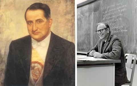 Darío Echandía y Robert Dahl: el poder y la poliarquía. | Imagen: Primicia/Wikicommons.