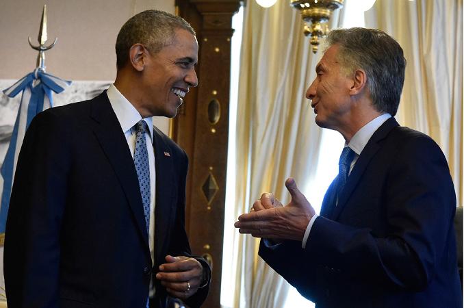 Los presidentes Barack Obama y Mauricio Macri en Buenos Aires. Foto: Presidencia de la Nación [CC BY 2.5]