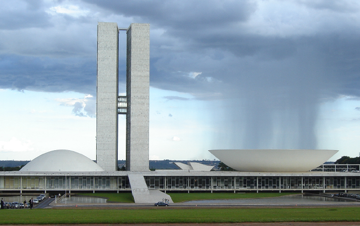Congreso Nacional de Brasil | Foto: Eurico Zimbres, vía Wikicommons