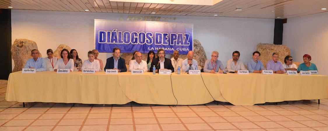Diálogos en La Habana | Foto: Oficina del Alto Comisionado para la Paz, Colombia.