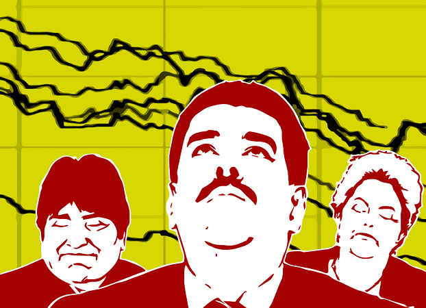 Caras de preocupación | Imagen: composición de Guillermo Tell Aveledo