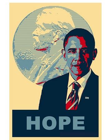 Barak Obama y el Premio Nobel de la Paz | Fuente: Ana Jacoby