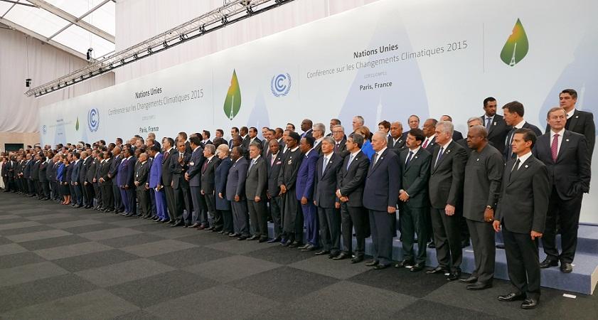 COP21, 30 de noviembre de 2015 | Foto oficial de la reunión