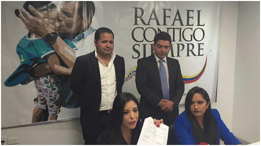 El colectivo Rafael Contigo Siempre busca eliminar trabas para la reelección indefinida del presidente Correa