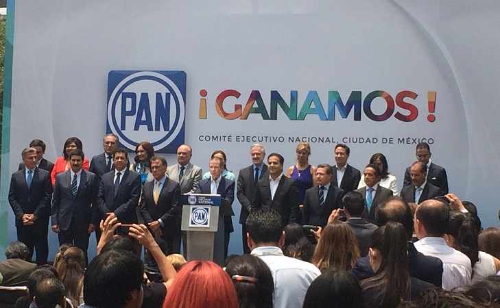 El comité ejecutivo nacional del Partido Acción Nacional de México (PAN) | Foto: Carlos Castillo
