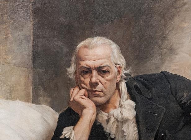Francisco de Miranda | Detalle del cuadro de Arturo Michelena, 1896.