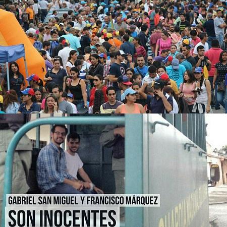 Carabobo, Venezuela: manifestación popular y detención de jóvenes | Fotos: Andrea Mesa