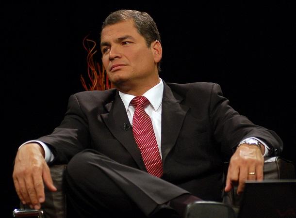 Rafael Correa | Foto: Emilio Sánchez, Presidencia de la República de Ecuador