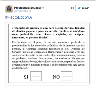Twitter_Presidencia_Ecuador_consulta_popular