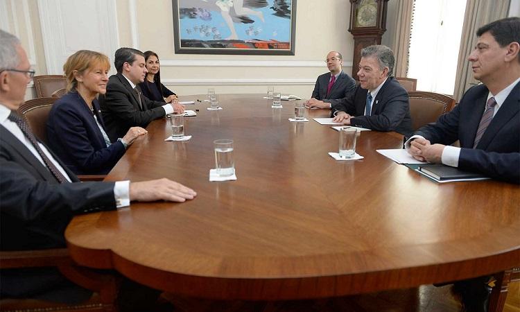 Parlamento federal alemán apoya proceso de paz colombiano | Fuente: Presidencia de Colombia