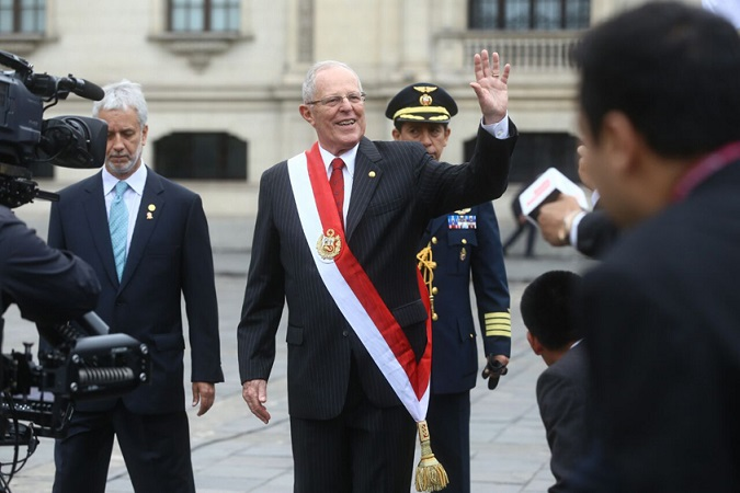 Presidente Pedro Pablo Kuczynski asume en Perú | Foto: www.presidencia.gob.pe