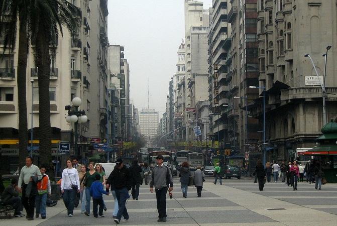 Plaza Independencia de Montevideo | Foto: Tomás Jorquera Sepúlveda, vía Wikicommons