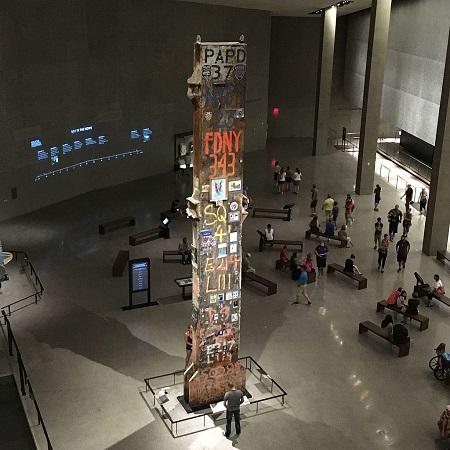 «The Last Column», homenaje a las víctimas del 11-S firmado por sus familiares | Foto: The Pancake of Heaven [CC BY-SA 4.0], vía Wikicommons