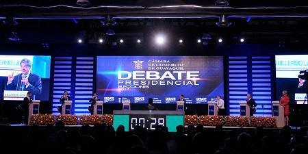 #Debate2017 en Guayaquil, 25.1.2017