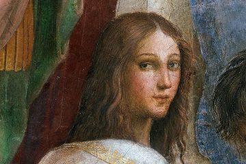Detalle del retrato de Hypatia de Alejandría realizado por Rafael Sanzio | Wikicommons