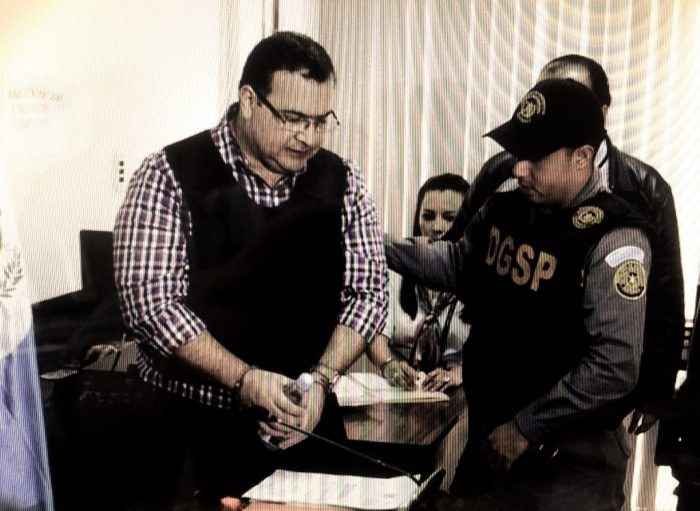 Javier Duarte, capturado en Guatemala