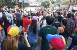 Protestas en Caracas