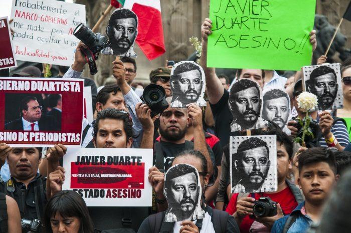 Seis periodistas fueron asesinados hasta hoy en 2017, ante una autoridad incapaz de responder a la demanda de justicia | Foto: EneasMx, vía Wikicommons