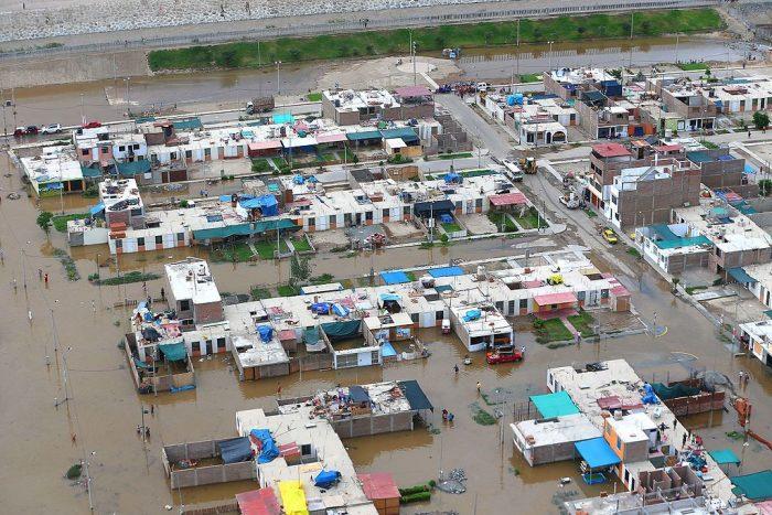 Inundaciones de enero de 2017 en el Perú | Foto: Ministerio de Defensa del Perú, vía Flickr