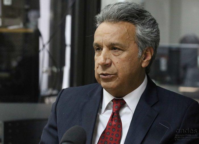Lenín Moreno, nuevo presidente de Ecuador | Foto: Agencia Andes, vía Wikicommons