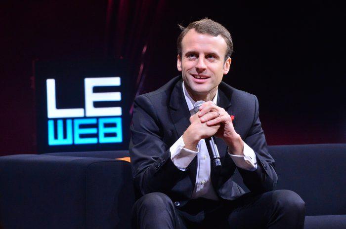 Emmanuel Macron, bocanada de aire fresco para el modelo europeo | Foto: LeWeb14, vía Wikicommons