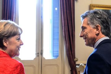 Merkel y Macri