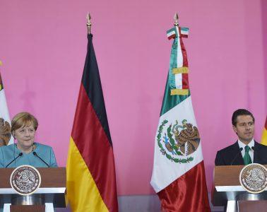 Comercio, medio ambiente, derechos humanos y migración, los temas de la visita de Merkel a México | Foto: www.presidencia.gob.mx