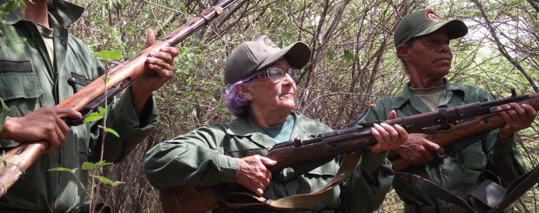 Ejercicios de la milicia bolivariana. | Foto: miliciabolivarianaaldia.blogspot