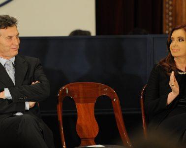 Presidente Mauricio Macri y expresidenta Cristina Fernández de Kirchner | Foto: Presidencia de la Nación, Argentina