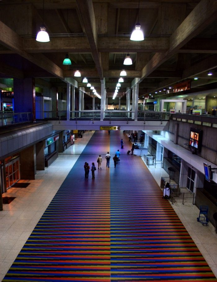Aeropuerto internacional Simón Bolívar de Caracas | Foto: Wikicommons
