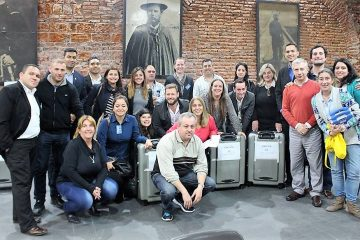 Observación electoral en el puesto de votación de la Casa del Partido Nacional de Uruguay   Foto: Castellar Granados