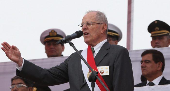 Presidente Pedro Pablo Kuczynski | Foto: Ministerio de Defensa de Perú