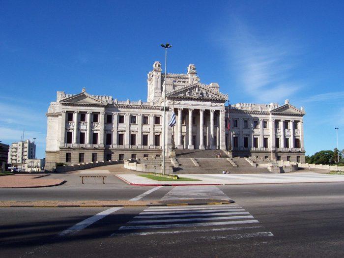 Palacio Legislativo, sede del Parlamento en Montevideo, Uruguay
