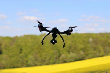 Drone de uso libre en el agro