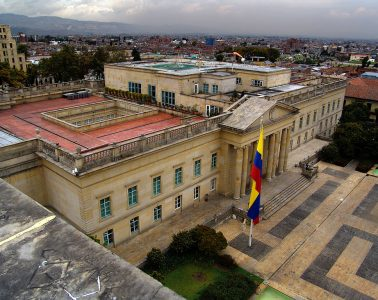 Casa Nariño, sede de la Presidencia de la República, Bogotá | Foto: Miguel Olaya, vía Wikicommons