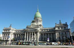 Edificio del Congreso Nacional de Argentina, en Buenos Aires | Foto: feelgrafix
