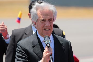 Presidente Tabaré Vázquez | Foto: Agencia Andes, vía Flickr
