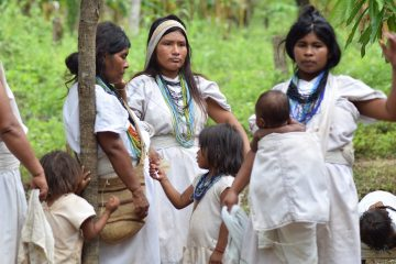 Reunión Ikarwa, en Sierra Nevada de Santa Marta | Foto: Luisa Castañeda