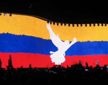 U2 en vivo el 7.10.2017, estadio El Campín, Bogotá | Foto: José Alejandro Cepeda