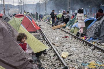 Campo de refugiados en Idomeni, Grecia | Foto: Flickr