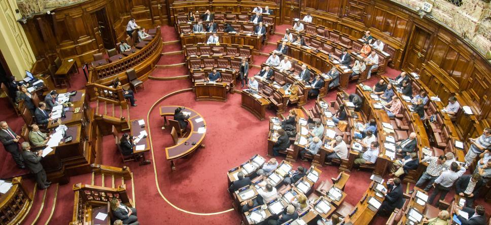 Recinto de la Cámara de Diputados, Montevideo | Foto: Parlamento uruguayo