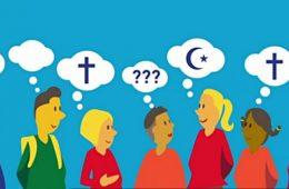 Fotograma de video del Ministerio de Educación de Francia sobre laicidad en la escuela
