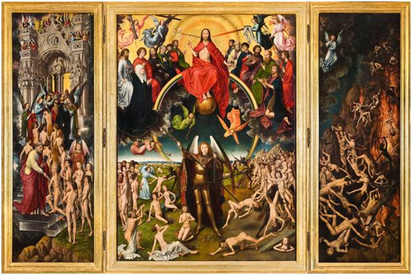 Hans Memling (1466-1473). El Juicio Final. Museo Nacional de Gdánsk.