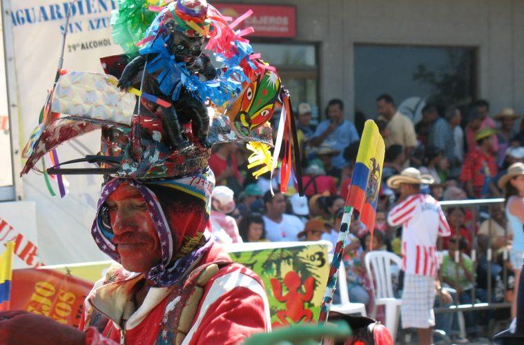Disfraz típico del carnaval de Barranquilla   Foto: Wikicommons
